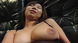 Lovely asian babe rubs bigtits using toys - Brazzers porno