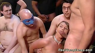 Busty German slut gets a surprise treatment when street thug gang bangs Reeves teases - Brazzers porno