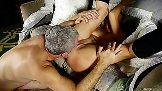 Jock uses two ball and squirts - Brazzers porno