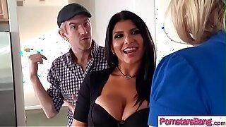 Big Cock Thick Porno SLUT Pornstar bent over by tipsy instructor - Brazzers porno
