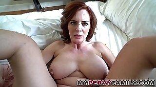 Busty milf pleasures step son - Brazzers porno