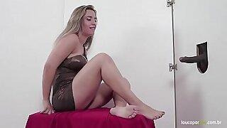 Cute Blonde foot fetish a red hot heat - Brazzers porno