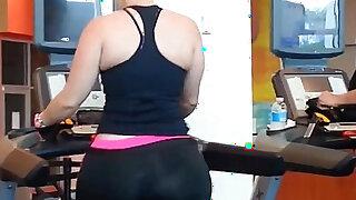 Culo en el gym - Brazzers porno