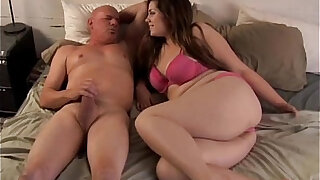 Cute chubby brunette anal fucking lucky guy - Brazzers porno