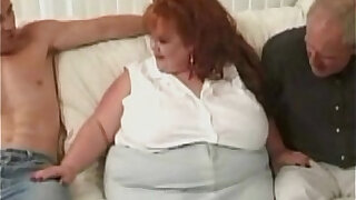 Huge BBW Redhead Takes On Three Massive black Cocks - Brazzers porno