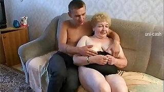 Russian Granny Grandson - Brazzers porno