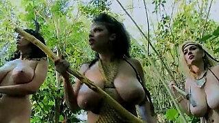 Total: 454 -  Big titted jungle girls