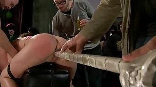 Pretty sexy cam girl knox suspended, dog play, bondage - Brazzers porno
