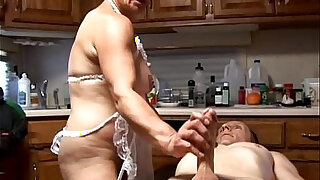 Slutty old spunker in sexy lingerie is a super hot fuck - Brazzers porno