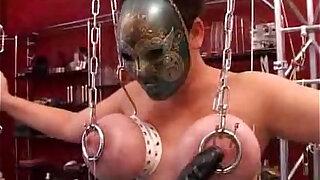Hard core BDSM.puncture of the chest.punishment - Brazzers porno