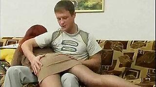 Guy sticks to her aunt - Brazzers porno