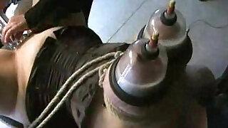 Lactating boobs in vacuum - Brazzers porno
