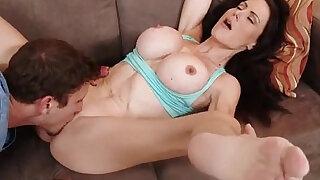 Horny sexy MILF McKenzie Lee fucking her sons friend - Brazzers porno