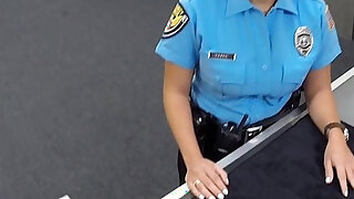 Police Officer Comes into Pawn Shop - Brazzers porno