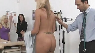 One doctor takes care of his three hot patients - Brazzers porno