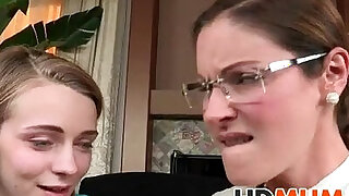 Mum makes my cock stud bang in hard - Brazzers porno