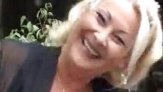 Horny granny in action - Brazzers porno