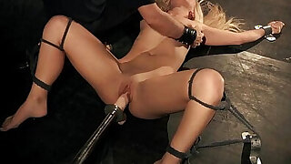 Liana is drilled with machine till climax - Brazzers porno