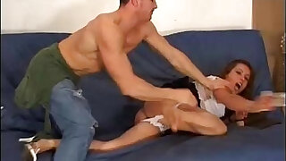 A young girl picked up in a park and abused at home - Brazzers porno