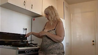 Cooking with your ugly aunt Rosa - Brazzers porno
