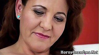 Hottie granny bent over - Brazzers porno